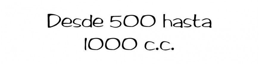 Hasta 1000 cc