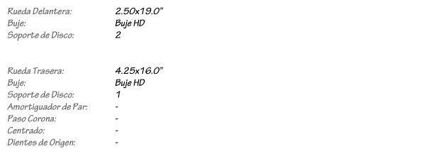 HD XL883N Iron - Juego de Llantas de Radios KINEO Wheels