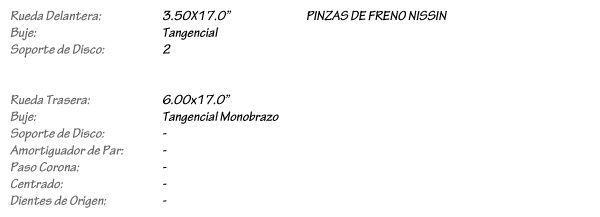 TRIUMPH SPEED TRIPLE 1050 - Juego de Llantas de Radios KINEO
